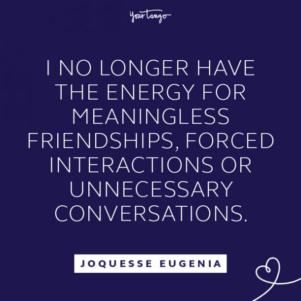 Joquesse Eugenia toxic relationship quote