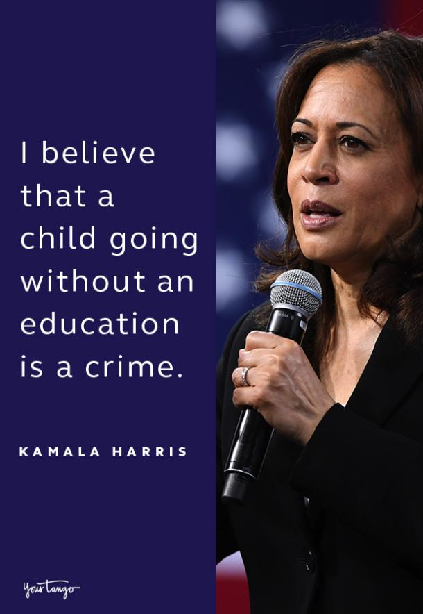 kamala harris quote about education