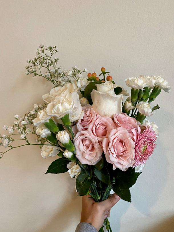 Custom Floral Arrangement from Planting with P