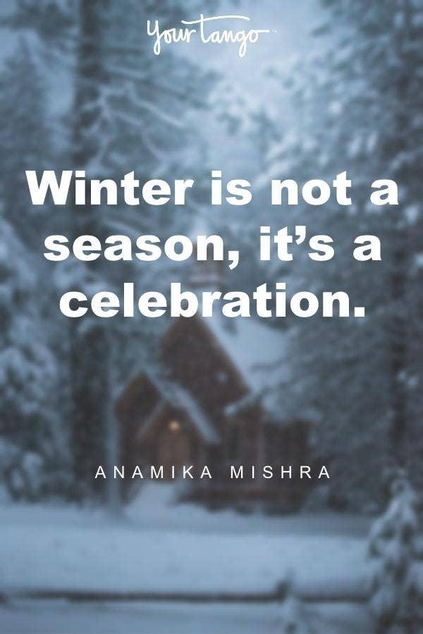 Anamika Mishra winter solstice quote