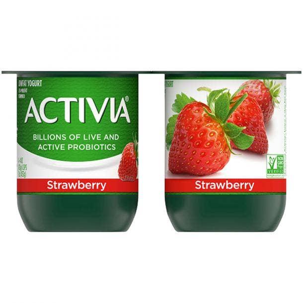 Dannon Activia Probiotic Blended Lowfat Yogurt