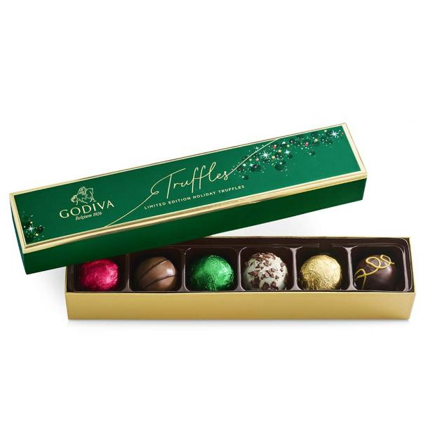 GODIVA Chocolatier Limited-Edition Holiday Truffle Assorted Chocolate Gift