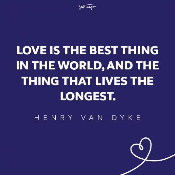 henry van dyke love quote