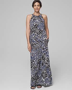 Soma Halter Maxi-Dress