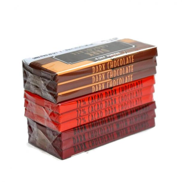 Trader Joe's Belgian Dark Chocolate Bars 3 Variety Pack