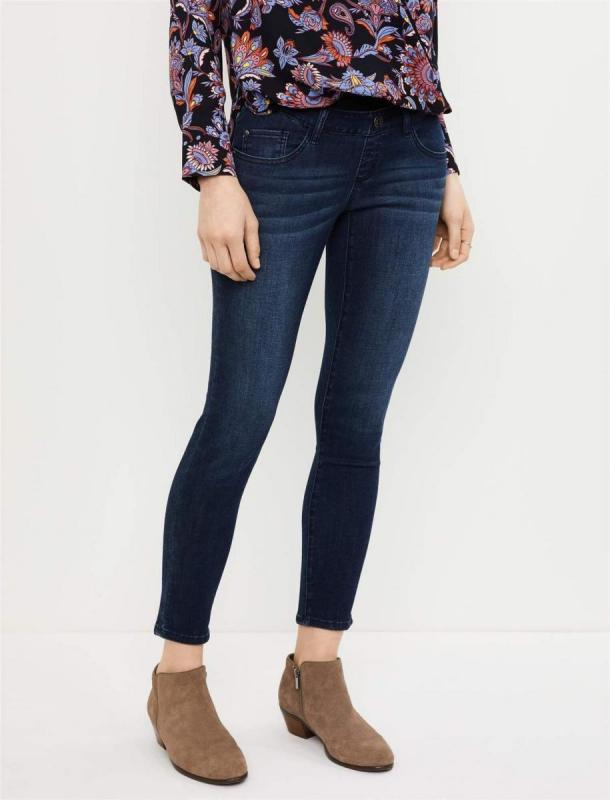 A Pea In The Pod Ankle-Length Pregnancy Jeans
