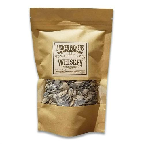 Whiskey Infused Sunflower Seeds