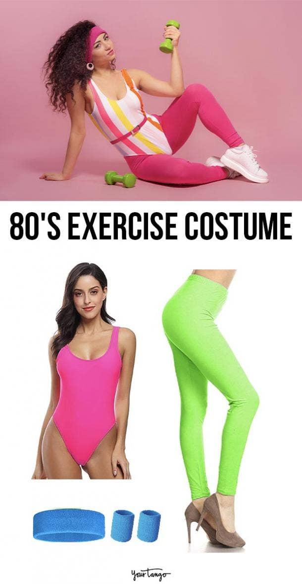 80s jazzercise last minute halloween costumes