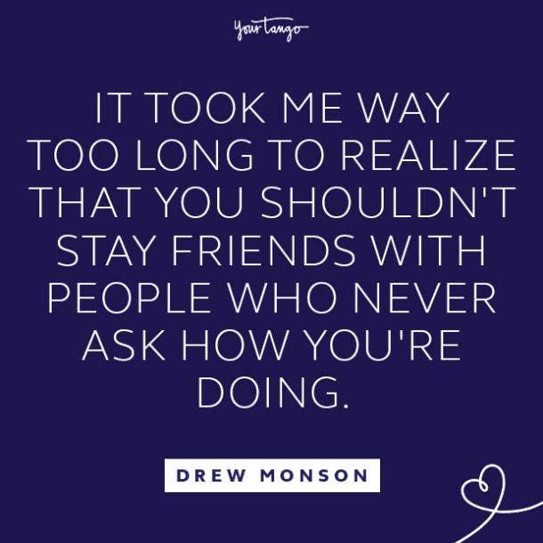 Drew Monson toxic relationship quote
