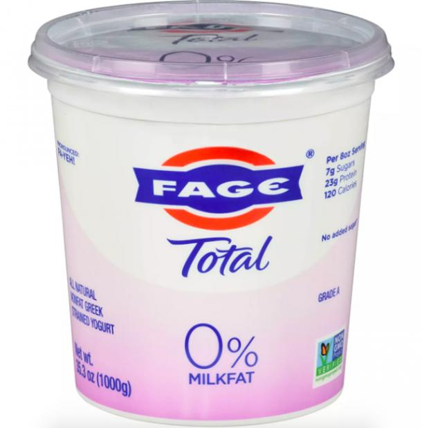 FAGE Total 0% Milkfat Plain Greek Yogurt