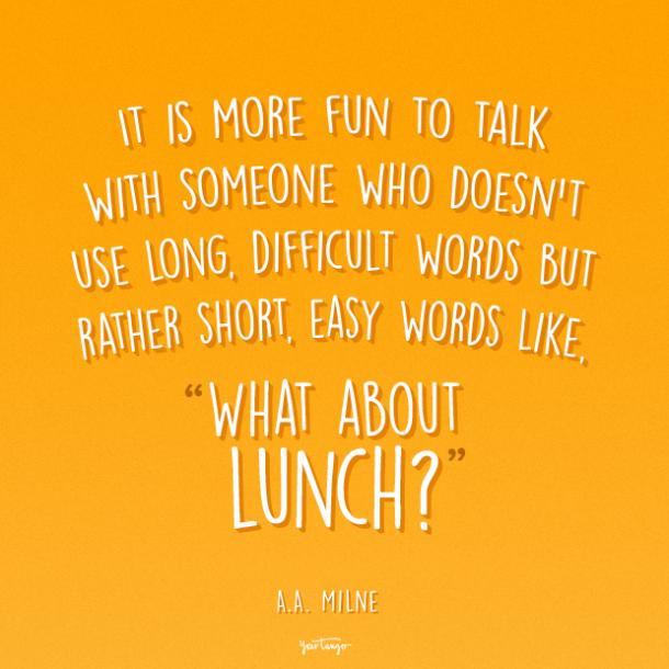 A.A. Milne funny friendship quotes