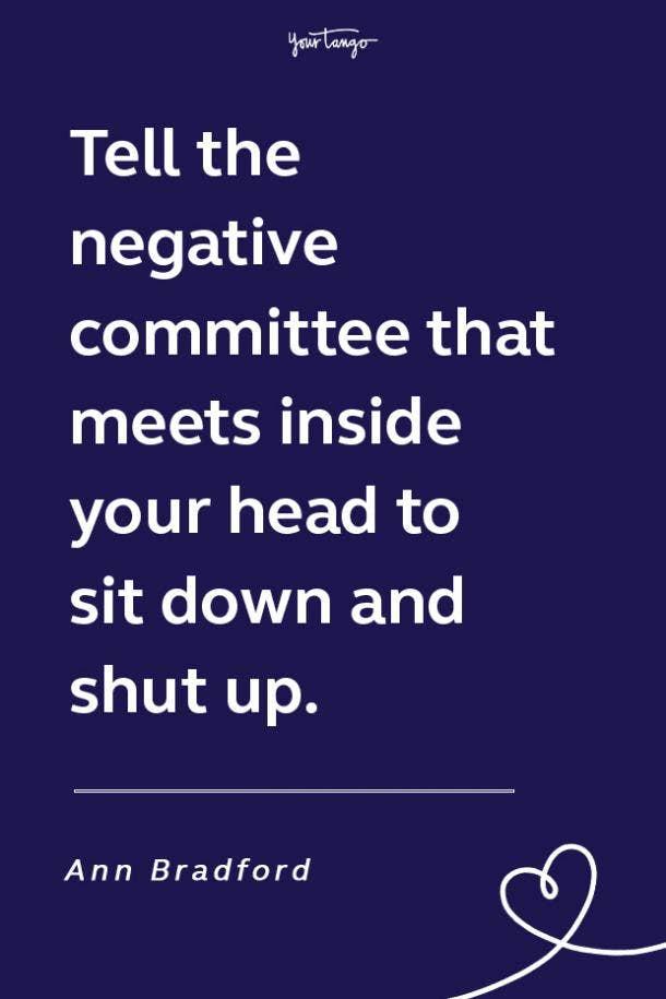 Ann Bradford funny motivational quote