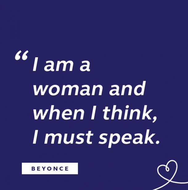 Beyonce quote about women