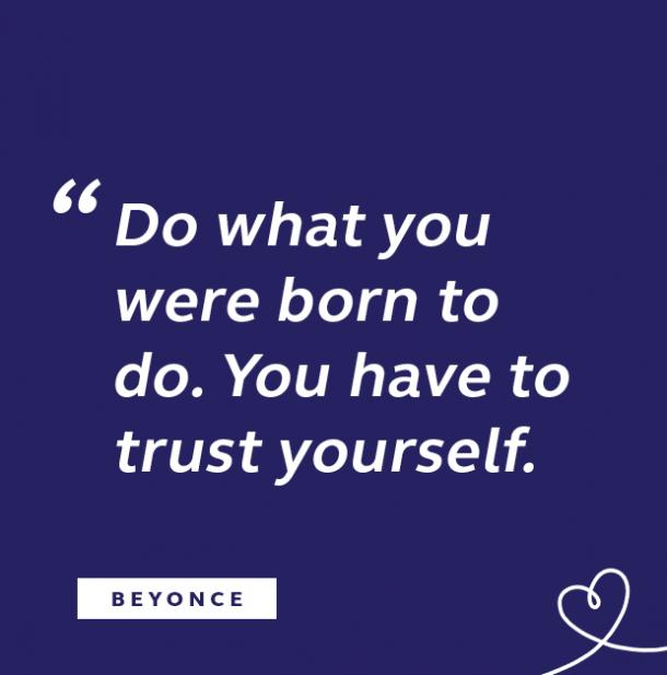 Beyonce quote about trust