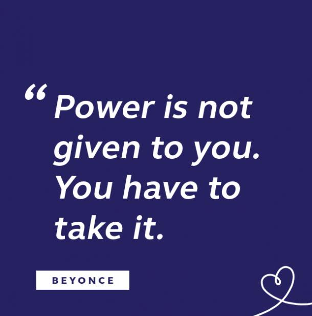 Beyonce quote about power