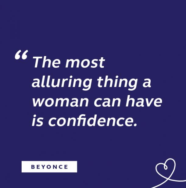 Beyonce quote about confidence