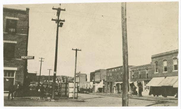Black Wall Street Prior to Tulsa Massacre