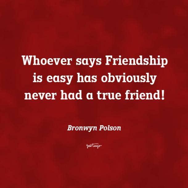 Bronwyn Polson funny friendship quotes