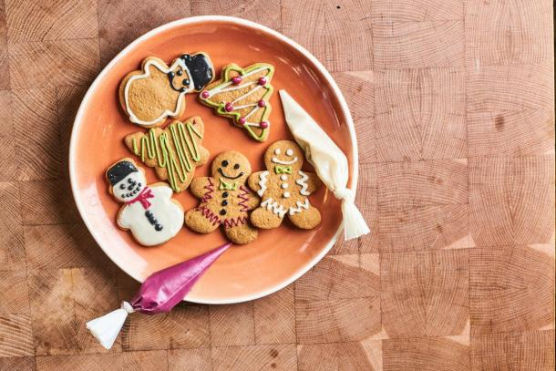 Cafe Gratitude DIY Christmas Cookie Kit