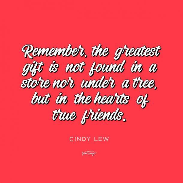 Cindy Lew long distance friendship quotes