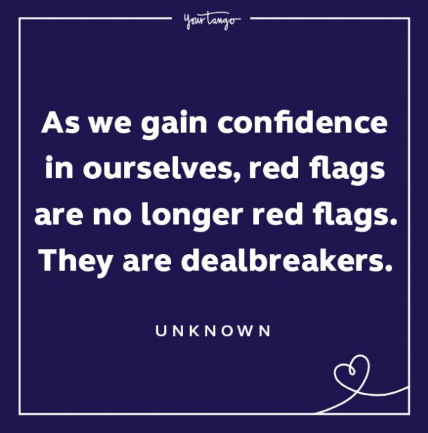 Red Flag Quote Dealbreakers