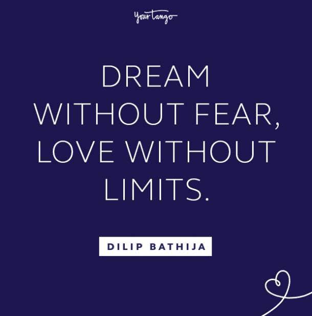 Dilip Bathija follow your dreams quote