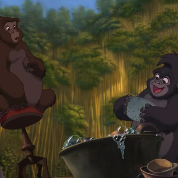 Disney Songs Trashin' The Camp