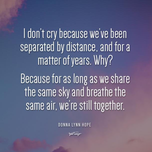 Donna Lynn Hope long distance friendship quotes