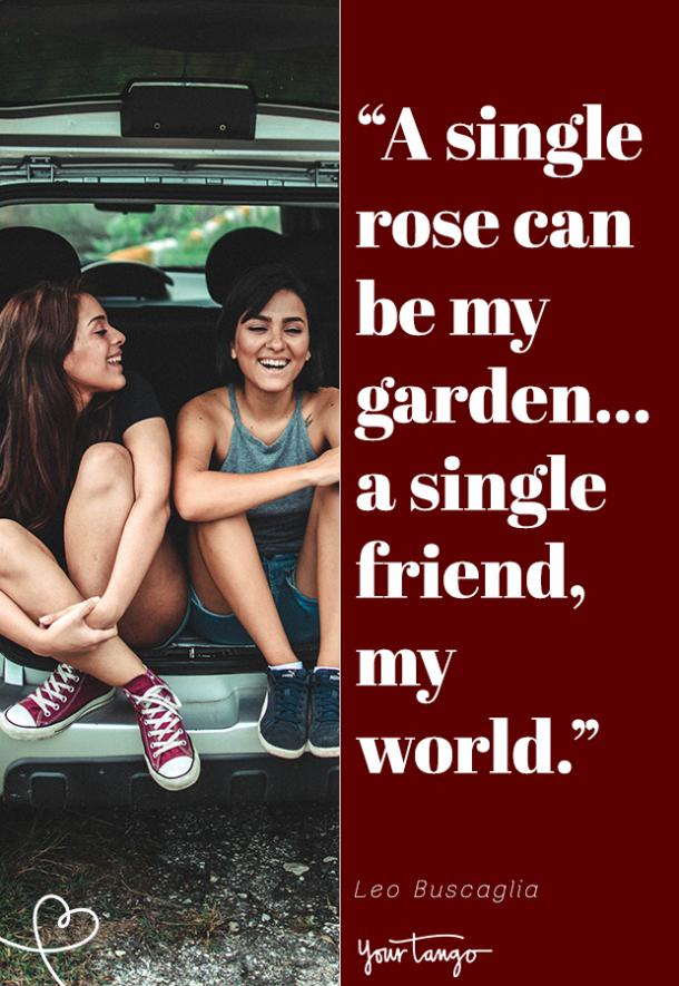 Love Quotes For Friends On Valentine's Day friendship memes
