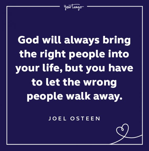 Red Flag Quote God Will Bring The Right People
