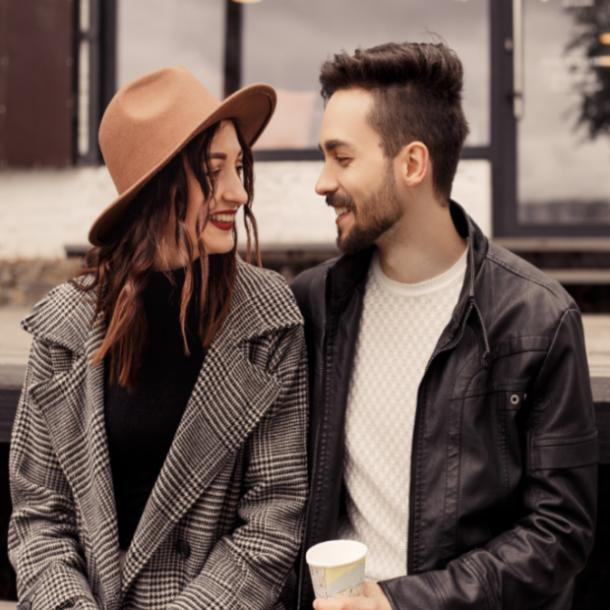 how to attract soulmate woman and man sitting next to each other