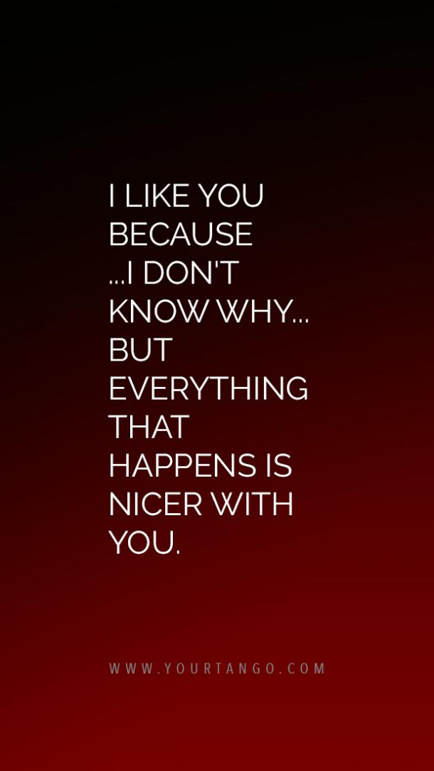 I like you quotes for valentines day not ready to say i love you