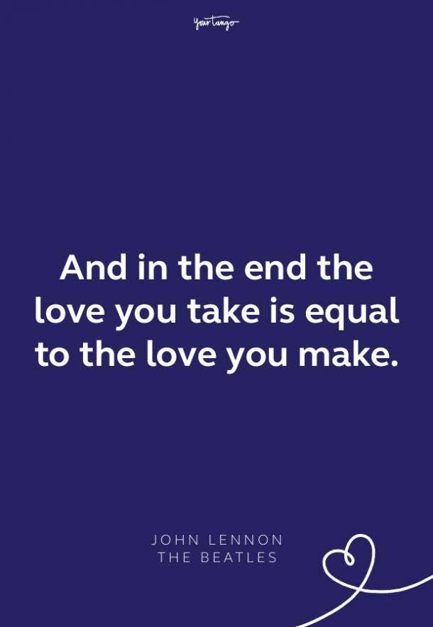 the beatles lyrics john lennon quote