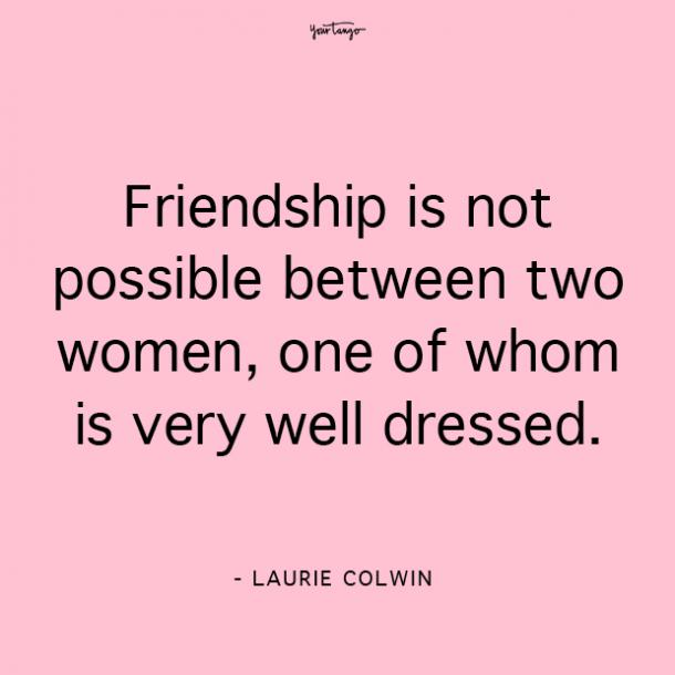 Laurie Colwin funny friendship quotes