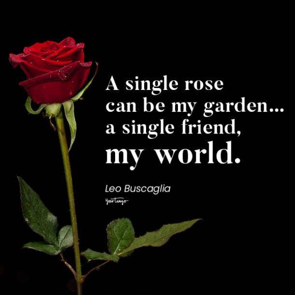 Leo Buscaglia long distance friendship quotes