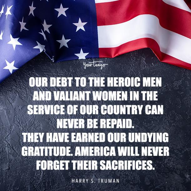 Memorial Day quote by Harry S Truman
