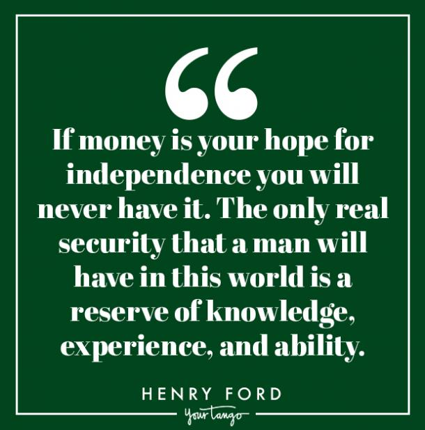 money quotes