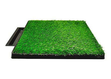 Pet turf portable potty for dogs