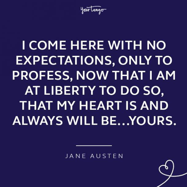 Jane Austen loving a woman quotes