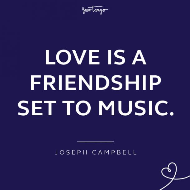 Joseph Campbell loving a woman quotes
