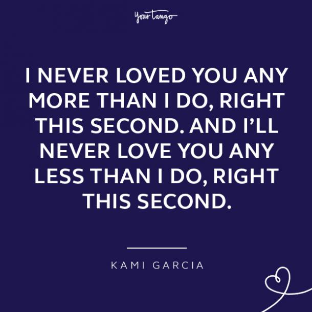 Quotes about loving a woman Kami Garcia