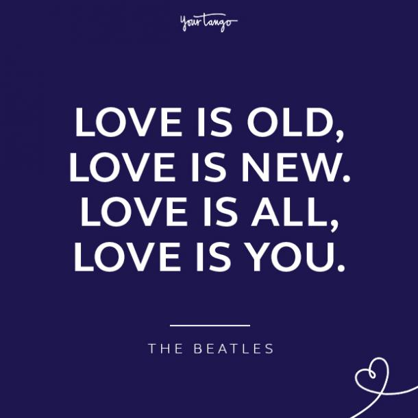 Quotes about loving a woman The Beatles