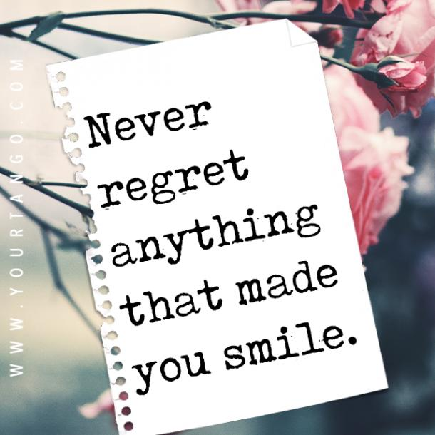 regret quotes about living life to the fullest