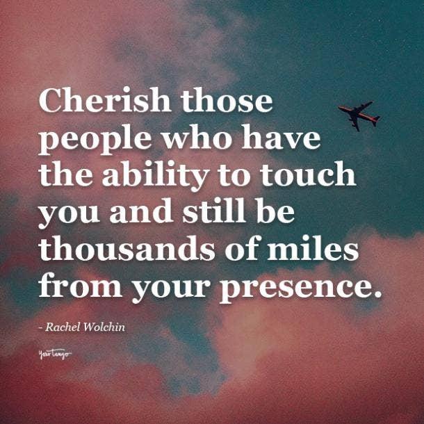 Rachel Wolchin long distance friendship quotes