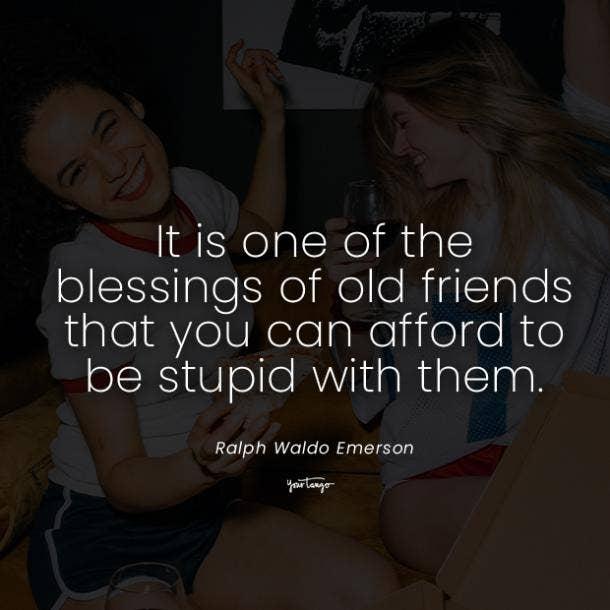 Ralph Waldo Emerson funny friendship quotes