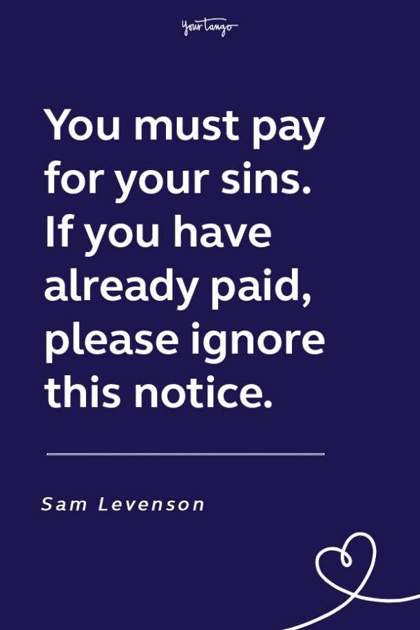Sam Levenson funny motivational quote
