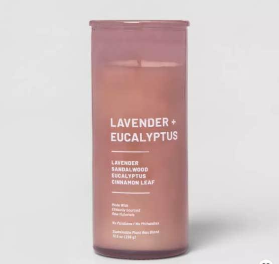 lavender eucalyptus candle
