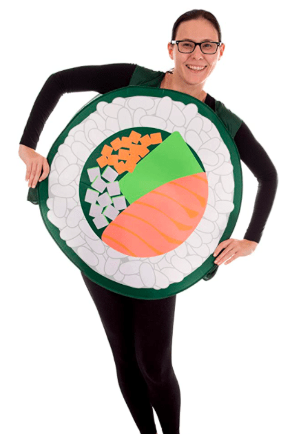 sushi roll costume