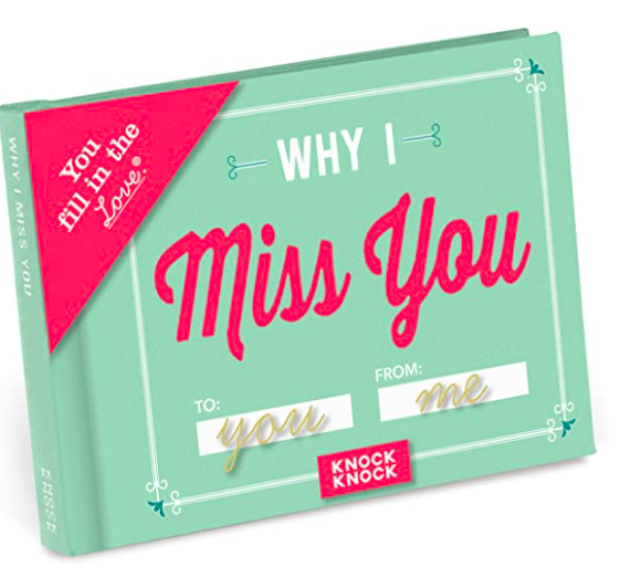 why i miss you book long distance gift idea