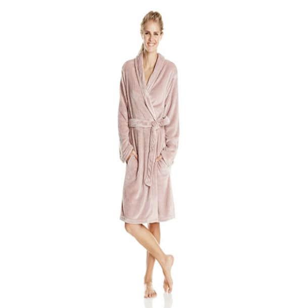 Serre Velvet Mink Plush Robe